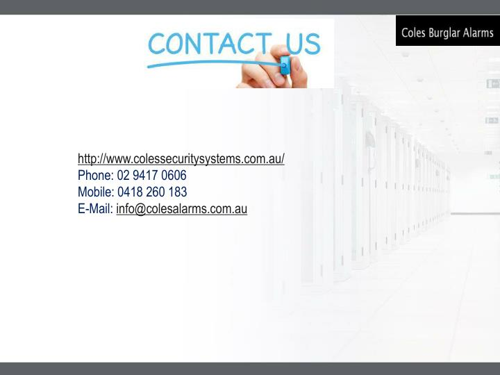 http://www.colessecuritysystems.com.au/