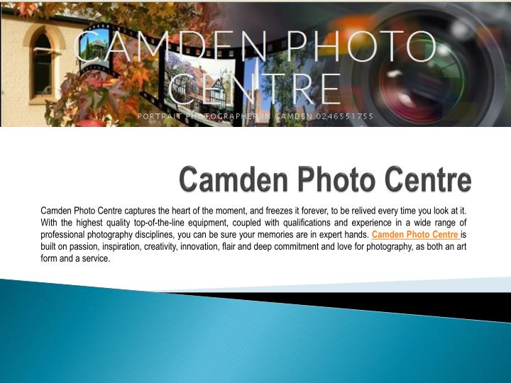 Camden photo centre