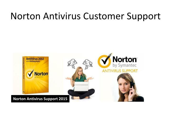 Norton Antivirus Customer Support