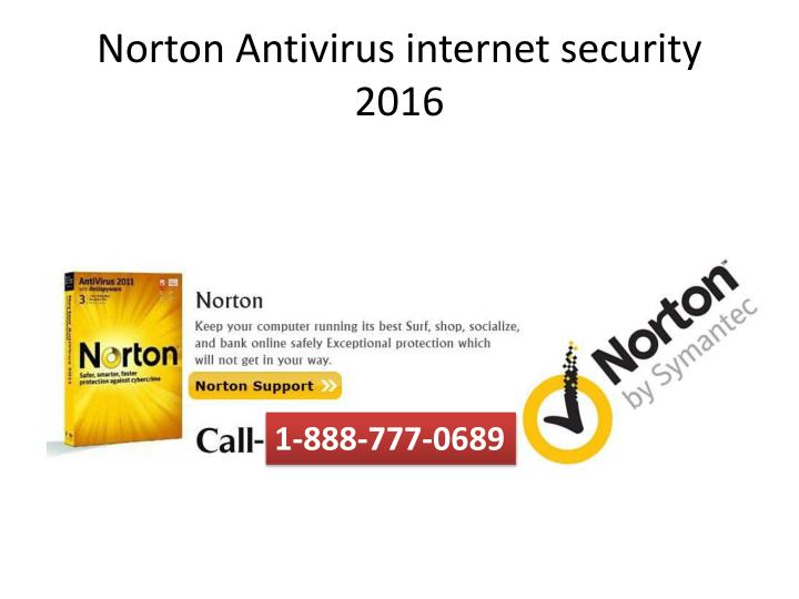 Norton antivirus internet security 2016