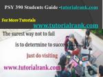 psy 390 students guide tutorialrank com9