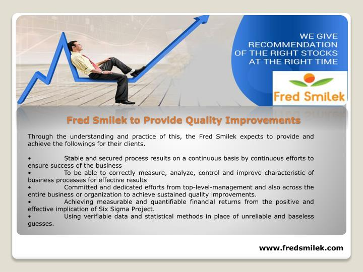 Through the understanding and practice of this, the Fred