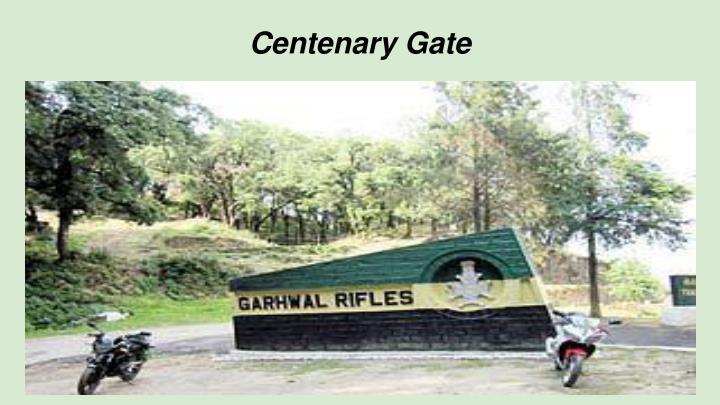 Centenary Gate