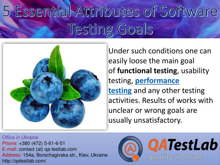 5 essential attributes of software testing goals2