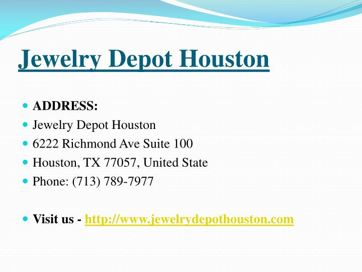 Jewelry Depot Houston