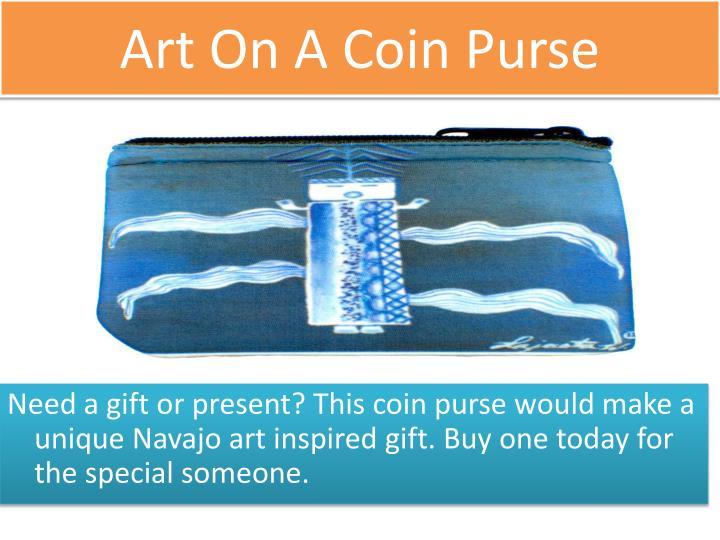 Art On A Coin Purse