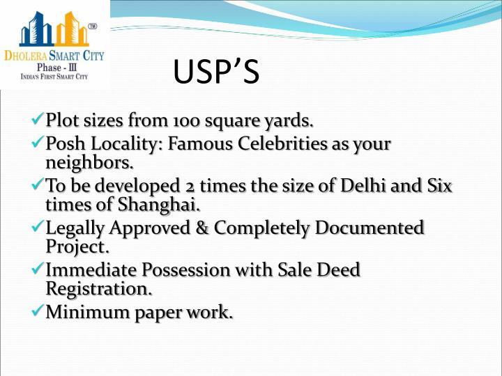 USP'S