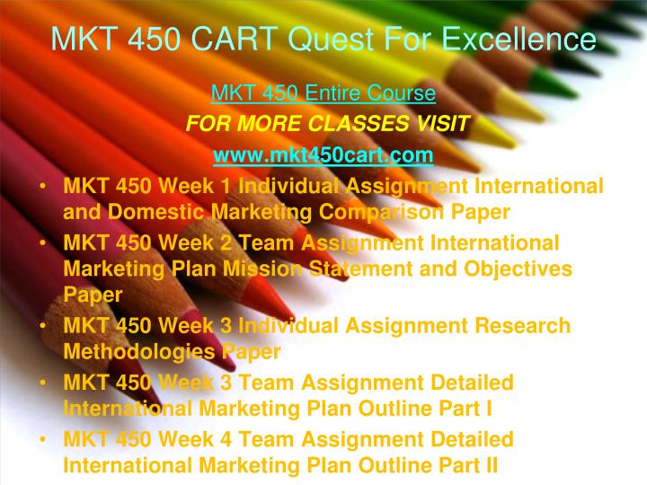 mkt 450 research methodologies paper