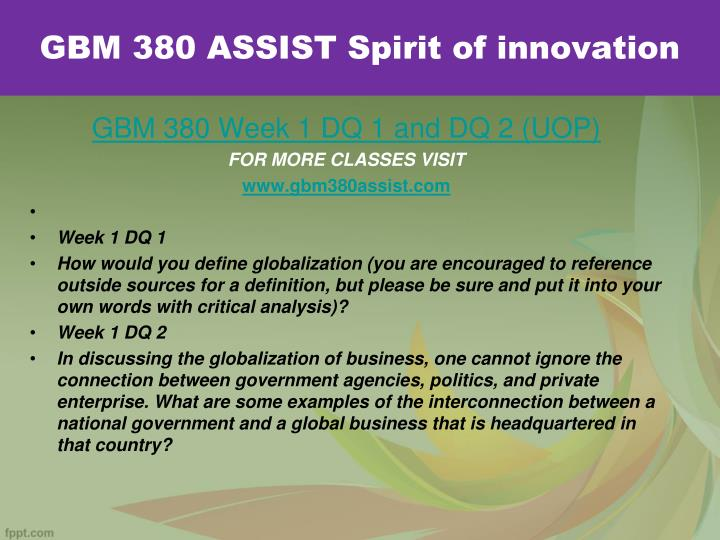 Gbm 380 assist spirit of innovation1