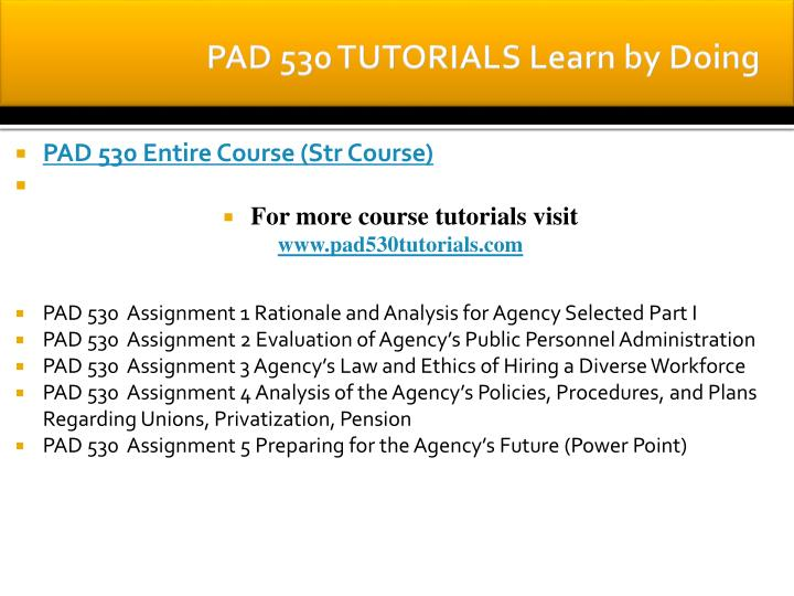 pad 530 assignment 1 rationale and Pad 530assignment 1 rationale and analysis for agency selected  pad 530assignment 1 rationale and analysis for agency selected this paper of pad 530 – assignment 1 rationale and analysis for agency selected comprehends: due week 2 and worth 100 points.