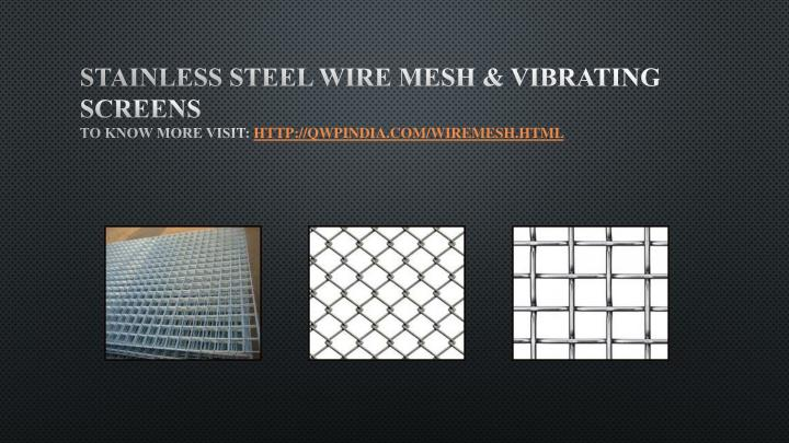 Ppt Qwp India Manufacturer Amp Supplier Of Rcc Mesh