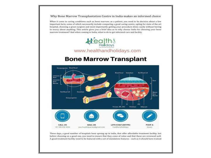 Best bone marrow transplant hospitals centre in india