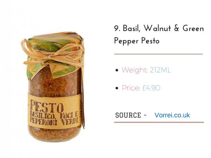 9.Basil,Walnut&Green