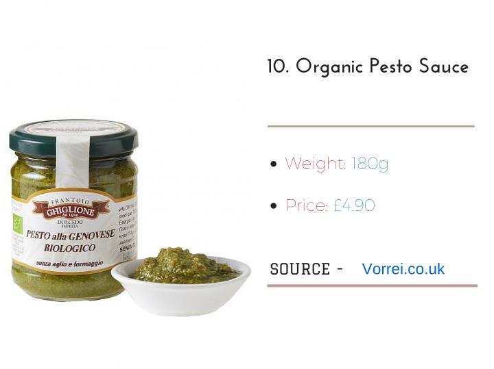 10.OrganicPestoSauce