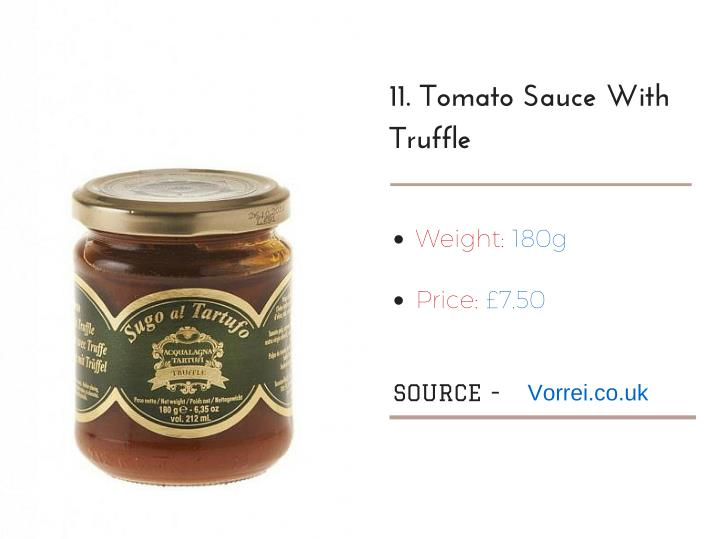 11. Tomato Sauce With