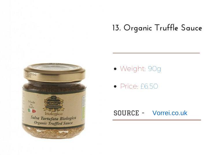 13.OrganicTruffleSauce