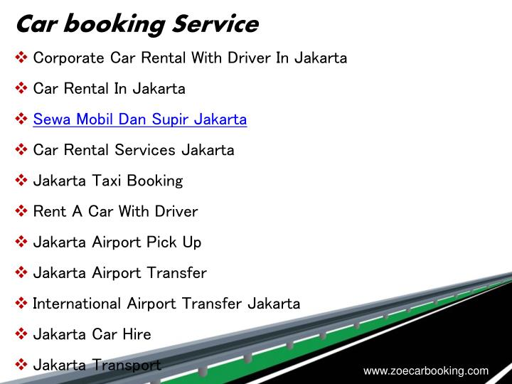 Car booking Service