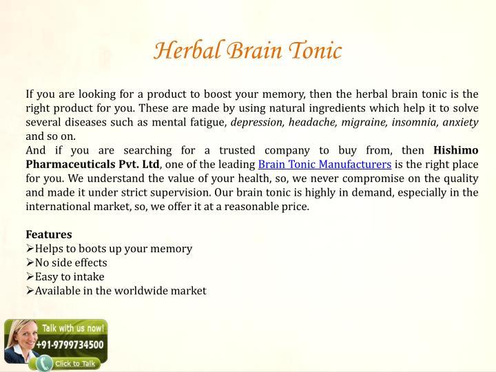 Herbal Brain