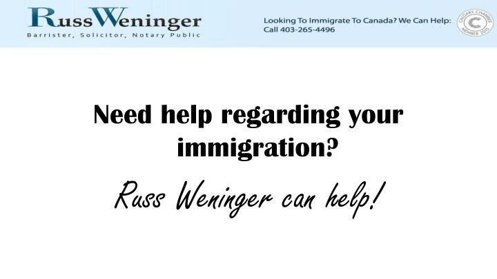 Need help regarding your immigration?