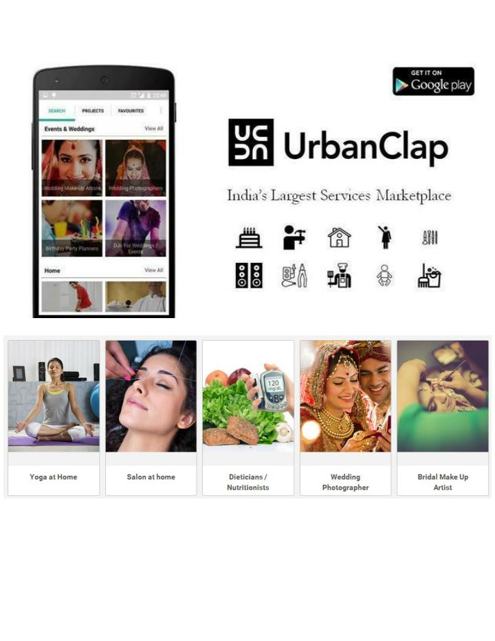 Urbanclap residential services