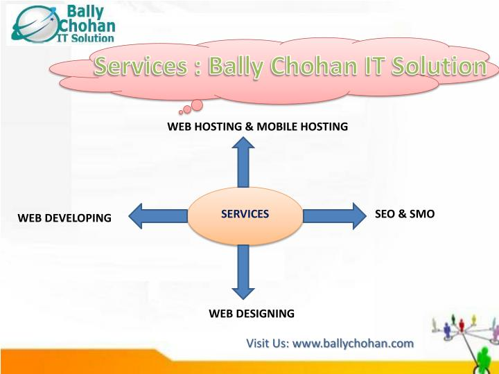 Services : Bally Chohan IT Solution