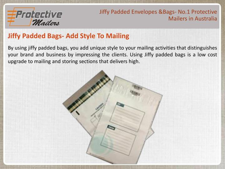 Jiffy Padded Envelopes &Bags- No.1 Protective