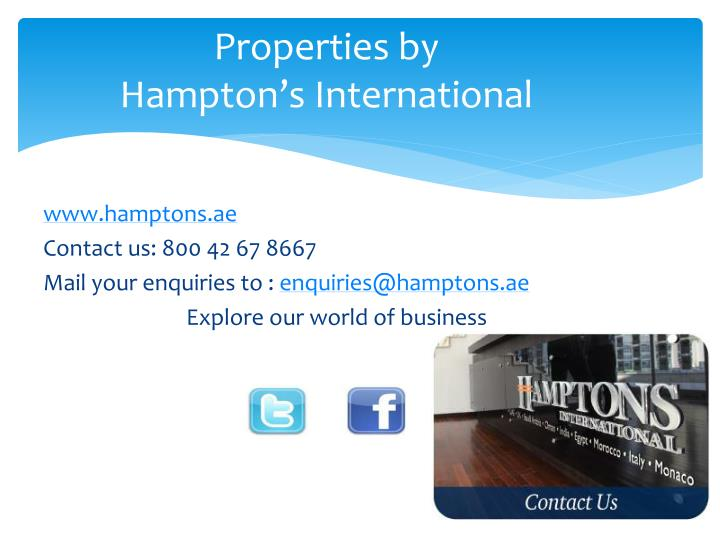 Properties by