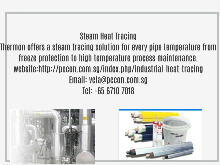 Steam Heat Tracing
