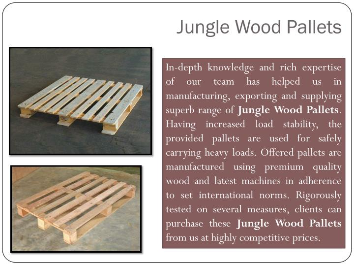 Jungle Wood Pallets