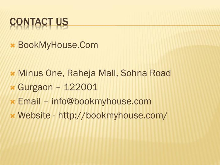 BookMyHouse.Com