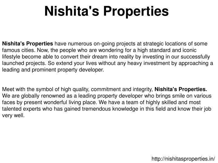Nishita's Properties