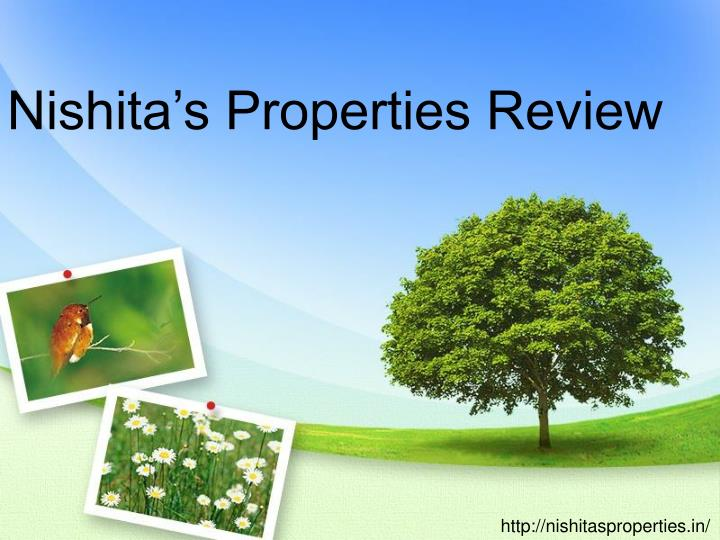 Nishita's Properties Review