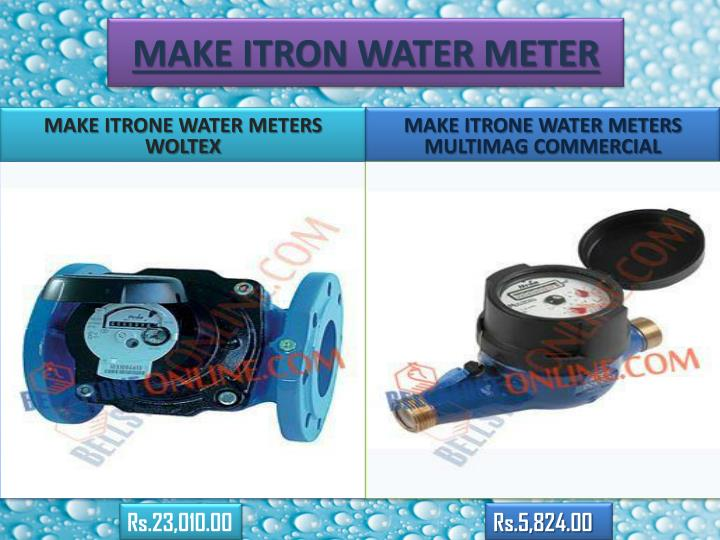 MAKE ITRON WATER METER