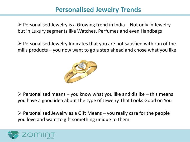 Personalised Jewelry Trends
