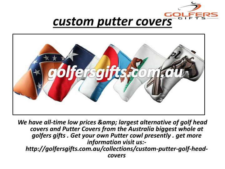 custom putter covers