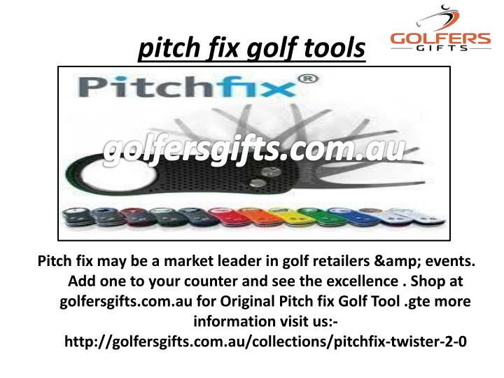 pitch fix golf tools