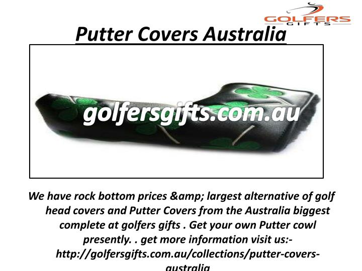 Putter Covers Australia