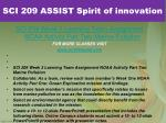 sci 209 assist spirit of innovation4