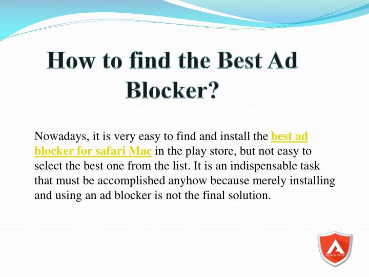 How to find the Best Ad Blocker?