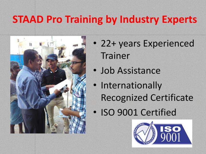 Staad pro training by industry experts1