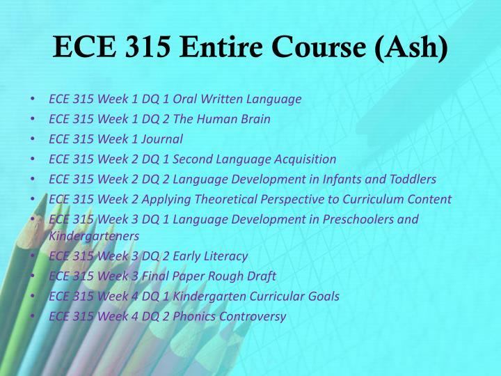 ECE 315 Entire Course (Ash)