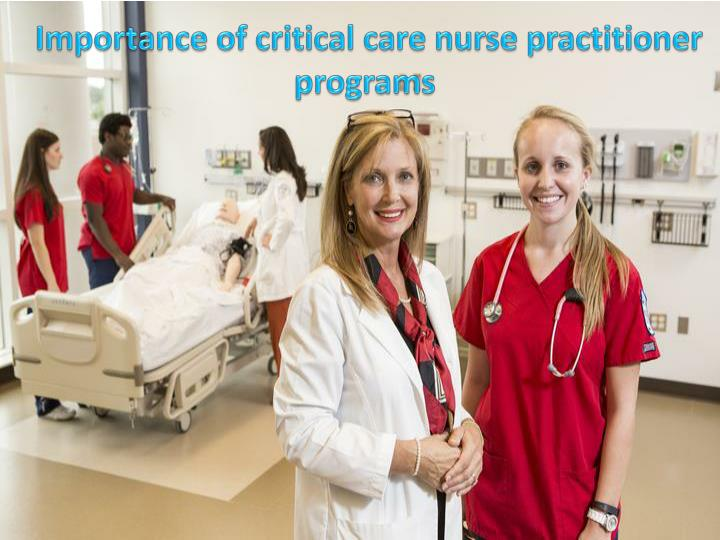 Importance of critical care nurse practitioner programs 7326753