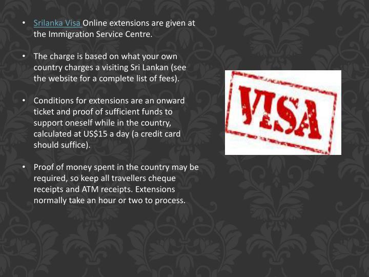 Srilanka Visa
