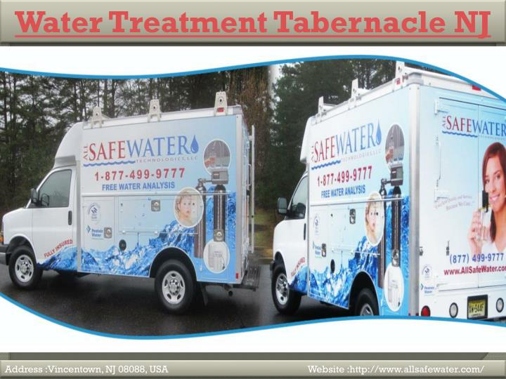 Water Treatment Tabernacle NJ