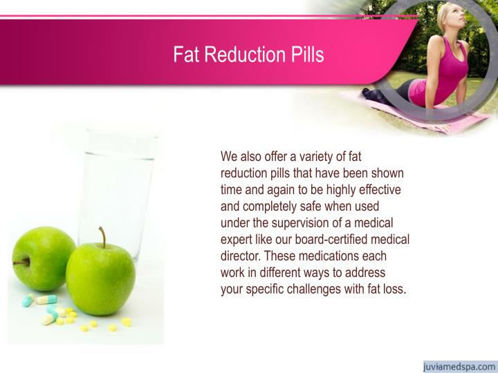 Fat Reduction Pills