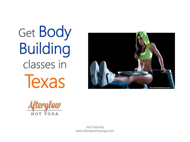 Get body building classes in texas