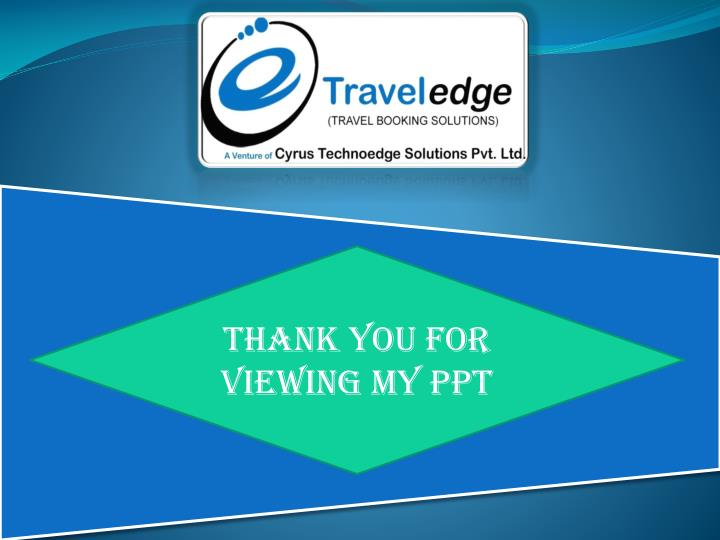 Thank You for Viewing My PPT