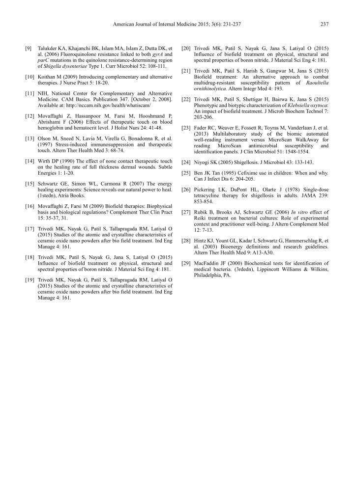 American Journal of Internal Medicine 2015; 3(6): 231-237