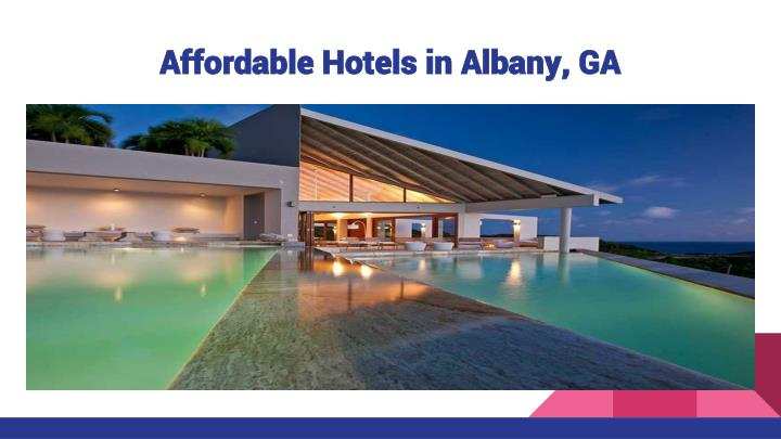 Affordable Hotels in Albany, GA