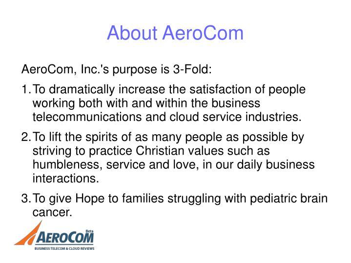 About AeroCom